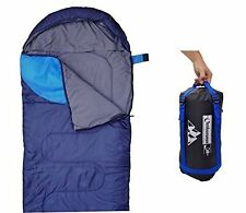 Outdoorsmanlab Sleeping Bag 47F/38F Lightweight Camping Backpacking Travel