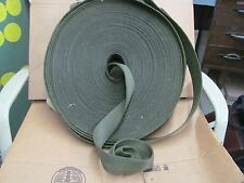 Webbing, O.D. Green Cotton