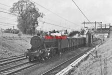 PHOTO  LMS CLASS 8F LOCO 48522 NEAR HARTFORD 4TH MAY 1966