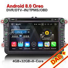 Android 8.0 Acht-kern GPS DAB Autoradio NAVI Für VW Passat Golf Tiguan Eos Jetta