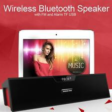 Wireless Portable Bluetooth Speaker 10W Super Bass Design iPhone Sony Samsung UK