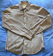 Camicia Hollister Button Down Casual Shirt Sz M Medium Striped Long Sleeve