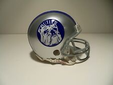 CUSTOM BUTLER BULLDOGS 1980-89  RIDDELL  MINI HELMET