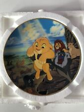Disney Lion King The Circle of Life Bradford Exchange Collector Plate # 1159A