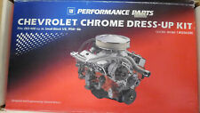 GM/Proform 141-001 SB Chevy Dress-up Kit, Short Valve Covers, Steel, Chrome