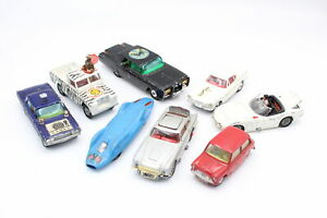 8 x Vintage CORGI Diecast Models Inc Aston Martin DB5, Green Hornet Black Beauty