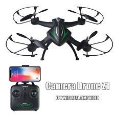 Z1 2.0MP Camera Wifi FPV Drone Height Hold APP One Key Return Quadcopter Toy USA