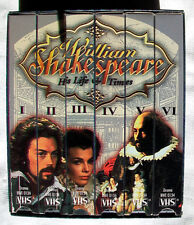William Shakespeare: His Life and Times - 6 Volume Gift Boxed Set VHS 2000