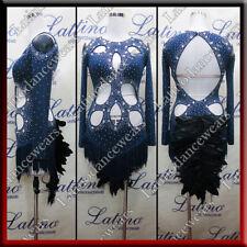 LATIN RHYTHM SALSA BALLROOM COMPETITION DANCE DRESS (LS369A)