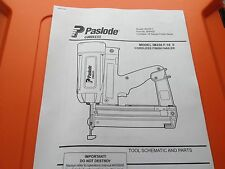 PASLODE IM250 TOOL PARTS DIAGRAM CHECK MY EBAY SHOP