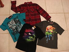 TONY HAWK (Lot of 4)- BOYS  SHIRT & T-SHIRTS SIZE  SMALL(4)  NEW WITH TAG
