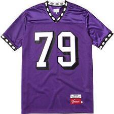 SUPREME Diamond Rib Football Top Purple M Box Logo camp cap kate moss F/W 13