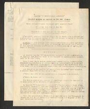 """SAINT-DOULCHARD (18) Société IMMOBILIERE & COMMERCIALE """"L'INDUSTRIELLE BATIMENT"""""""
