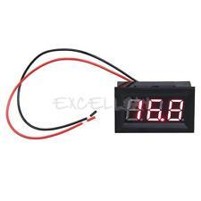 LCD DC 3.2-30V Red LED Panel Volt Voltage Meter Digital Voltmeter Car Motorcycle