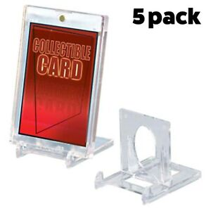Ultra Pro Two-Piece Small Trading Card Card Display Stand  - Pack of 5!