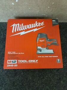 Milwaukee M12 12-Volt High Performance Jig Saw 2445-20 TOOL ONLY - NEW IN BOX