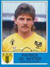 065 PATRICK DE RUYTER BELGIQUE K.BERCHEM SPORT STICKER FOOTBALL 87 PANINI