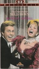 The Unsinkable Molly Brown VHS Very Good Debbie Reynolds Harve Presnell