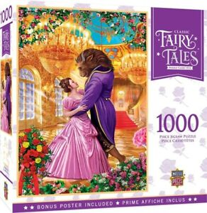 NEW Master Pieces Fairy Tales Beauty And The Beast Puzzle 1,000 Pcs from Mr Toys