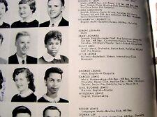 1957 Berkeley High School Yearbook Phil Lesh Grateful Dead SR Yr