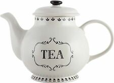 Creative Tops Bake Stir It up Jumbo Teapot off White