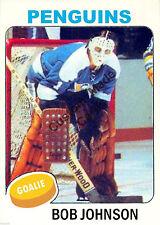 Custom made OPC 1975-76 Pittsburgh Penguins Bob Johnson Hockey  card