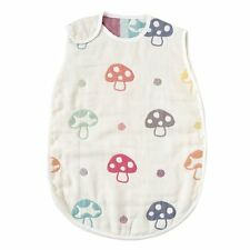 Hoppetta Champignon 6 Double Gauze Sleeper Kids size 7240 Made in Japan Cotton