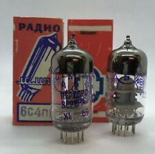 6C4PIE  6C4N-E 6C4N 6S4P 6C4P Russian NOS 2 pieces tube valve