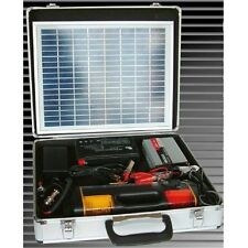ALEKO Portable Solar Power Charging Kit with 10W Panel and Battery