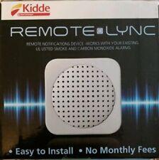 Kidde Remote Lync Home Monitoring Device Smoke & Carbon Monoxide Alarm