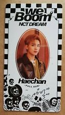 NCT DREAM HAECHAN Scratch Authentic Official BOOM CARD [WE BOOM] 3rd Mini Album
