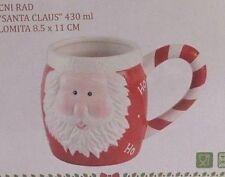 SANTA CLAUS MOTIV TASSE BECHER 430ml WEIHNACHTEN Weihnachtsmann MUG Sammler