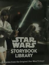 RARE Star Wars Storybook Library 6 Book Set From Original Trilogy