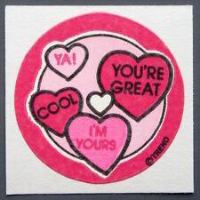 Vintage TREND Stinky Stickers CHERRY CANDY matte Scratch-N-Sniff sticker