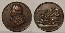 Vaticano medaglia papa Pio IX lavanda dei piedi anno XXII