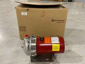 """Bell & Gossett 1AM010 2 HP 3/60/230-460 DP 6.12"""" 3600 RPM Pump"""
