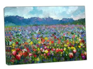 Oil Painting Colorful Spring Summer Rural Landscape Picture/Photo Reprint