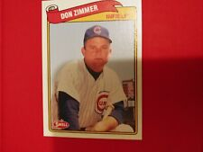 1989 Swell Don Zimmer Chicago Cubs #23