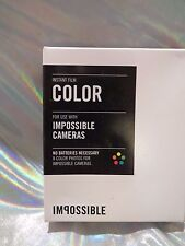 Impossible color film PRD2789 for Impossible Cameras