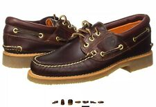 Timberland Classic Brown 3 Eye Stanwood Lugs Boat/Deck Shoes RRP £120