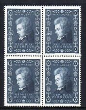 Mint Never Hinged/MNH Block Austria Stamps