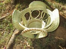 Sweetgrass Looped Stand Basket