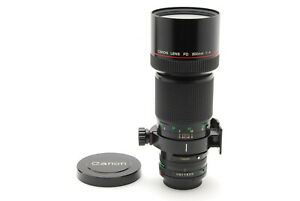 【TOP MINT】Canon FD 300mm f/4 L Telephoto MF Lens From JAPAN