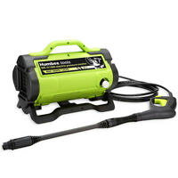 HUMBEE Portable Electric Pressure Washer 1,900 PSI 1.6 GPM high power washer