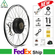 Electric Bicycle 28'' Rear Wheel Hub Motor 48V 1500W Ebike Conversion Kit