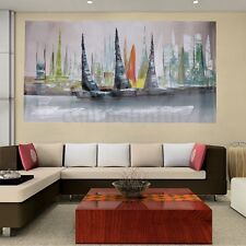 Modern Hand Abstract Large Wall Decor printed Oil Painting On Canvas No Framed