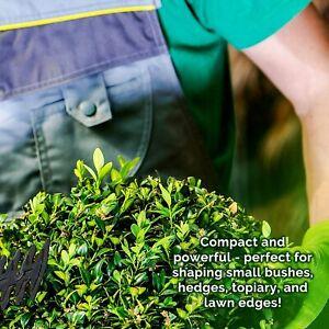 Mylek Cordless Hedge Trimmer Cutter & Grass Shears Handheld Li-ion Garden Shrub