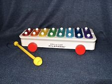Mattel Pull A Tune Classic Xylophone Educational Musical Toddler Toy Fun EUC