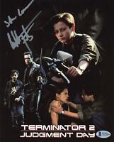 "Edward Furlong ""Terminator 2"" AUTOGRAPH Signed 'John Connor' 8x10 Photo Beckett"