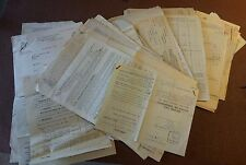 COLLECTION OF INCOME TAX RETURNS AND NOTICES 1936-1958 DEARDEN FRANE SUSSEX